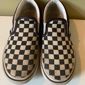 Vans kids size 13.5 shoes